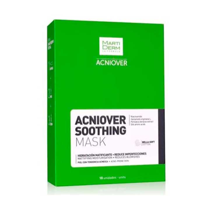 Martiderm Acniover Soothing Mask 10uds