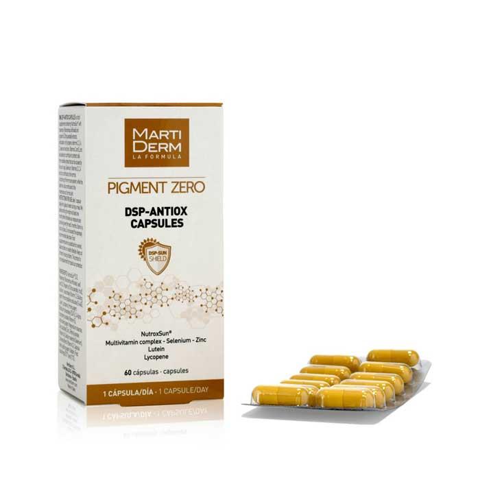 Martiderm Pigment Zero Dsp Antiox 60 Capsulas