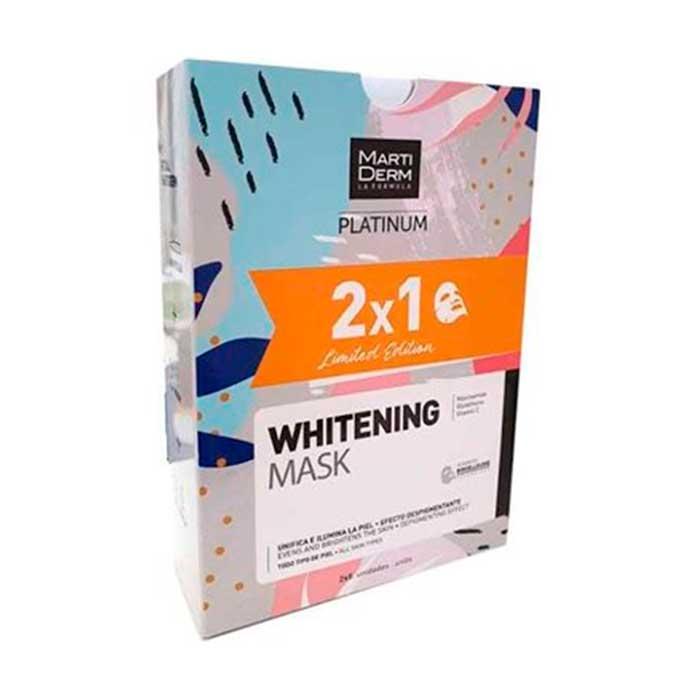 Martiderm Platinum Whitening Mask 2x5uds