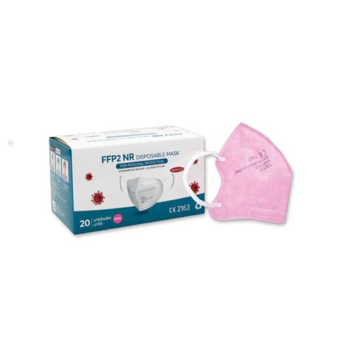 Mascarilla Ffp2 Nr Ce2163 Infantil Rosa 20 Unidades