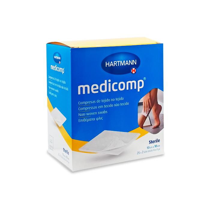 Medicomp Gasa Suave 10x10 50 Uds