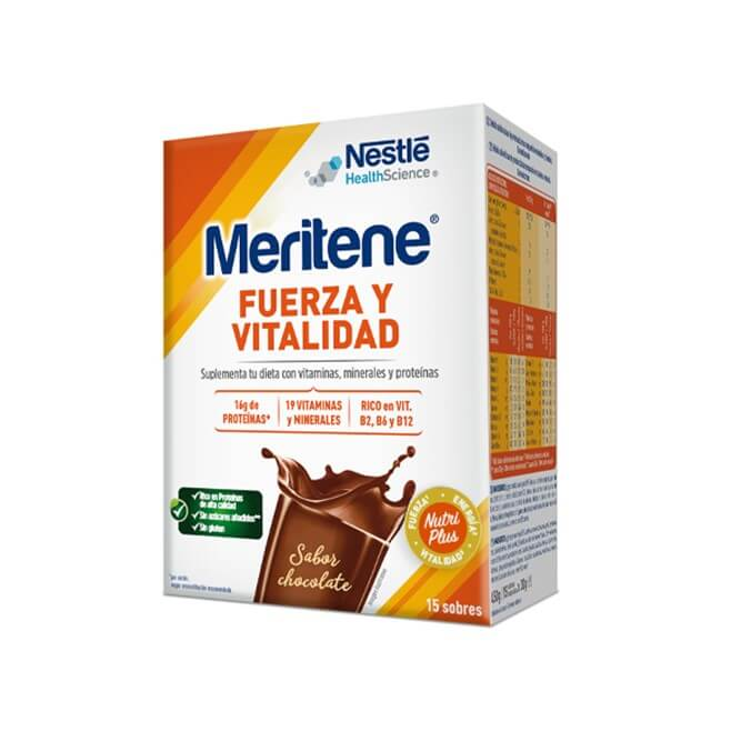 Meritene Chocolate 15 Sobres 30 g