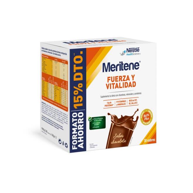 Meritene Chocolate Formato Ahorro 30 Sobres 30g
