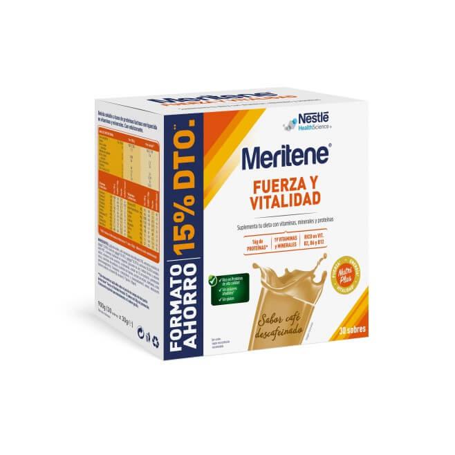 Meritene Cafe Formato Ahorro 30 Sobres 30g