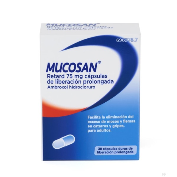 Mucosan retard 75 mg 30 capsulas