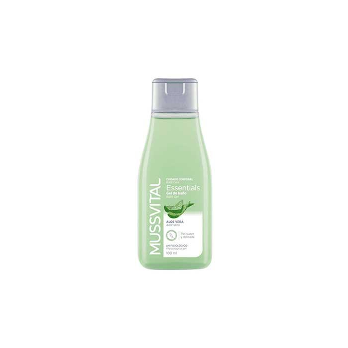 Mussvital Essentials Gel de Baño Aloe Vera 100ml