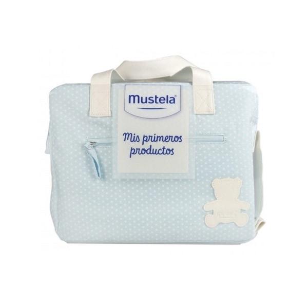 Mustela cesta mis primeros productos azul