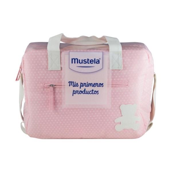 Mustela cesta mis primeros productos rosa