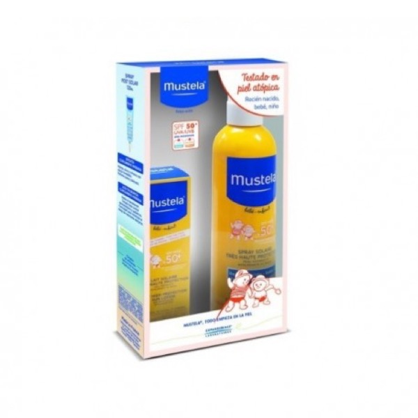 Mustela pack leche solar corporal 300 ml + facial 40 ml