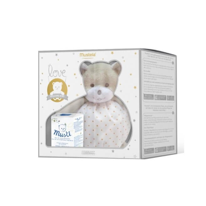 Mustela Musti Agua de Colonia S/ Alcohol 50ml Regalo Osito