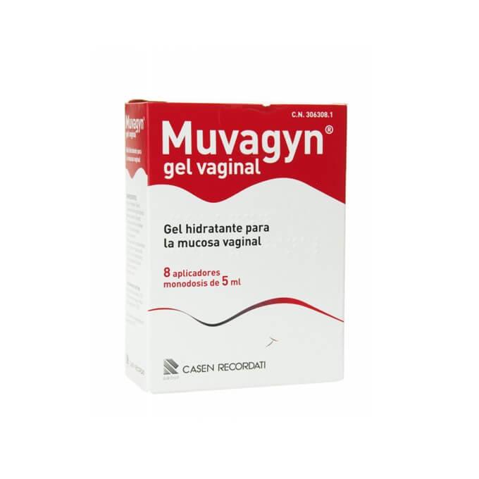 Muvagyn Gel Vaginal Hidratante 8 Aplicadores Monodosis 5ml