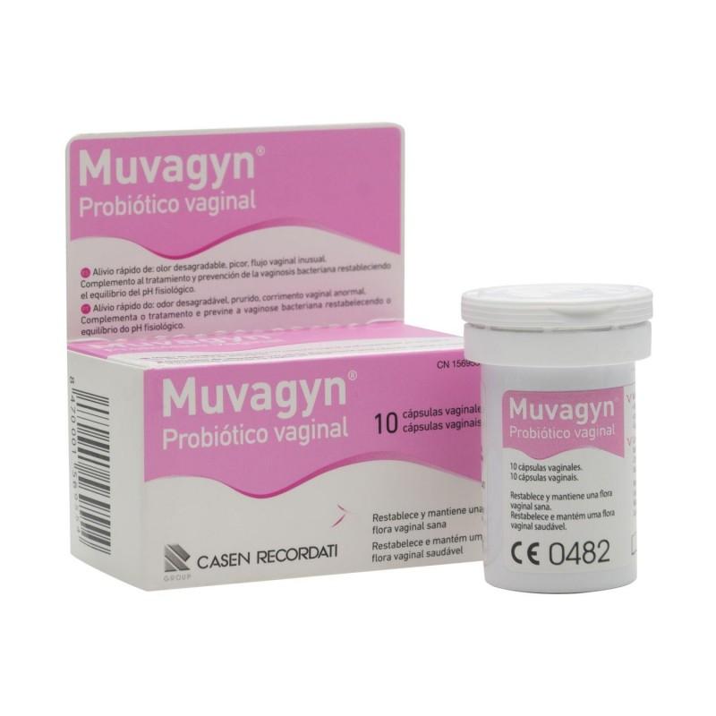 Muvagyn Probiotico Vaginal 10 Capsulas