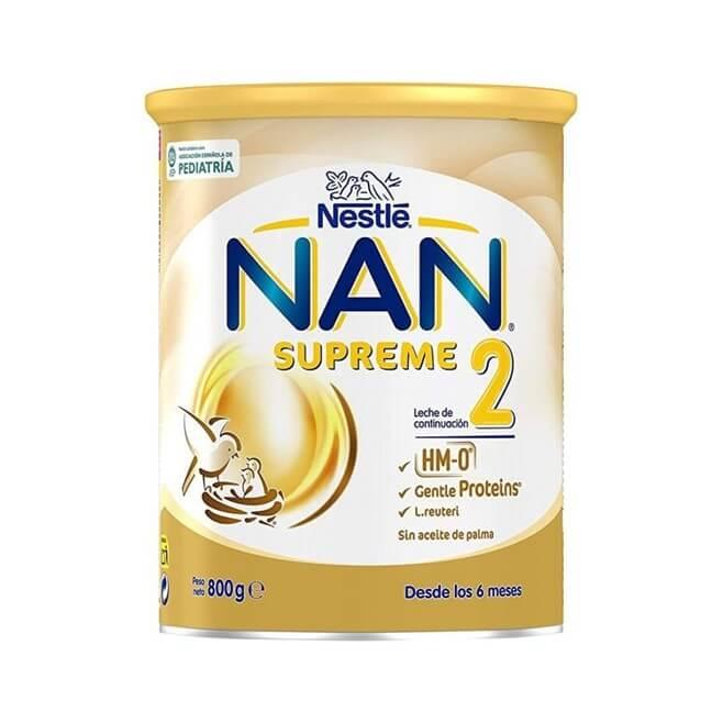 Nan 2 Supreme 800g Sin Aceite de Palma