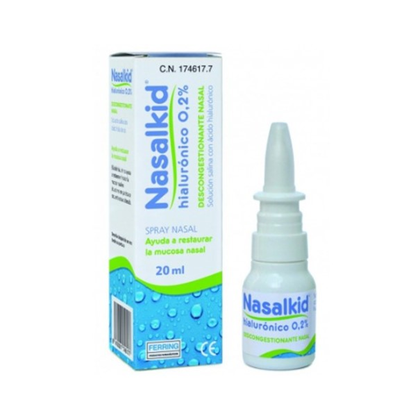 Nasalkid hialuronico spray nasal 20ml
