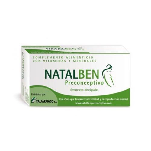 Natalben Preconceptivo 30 Cps