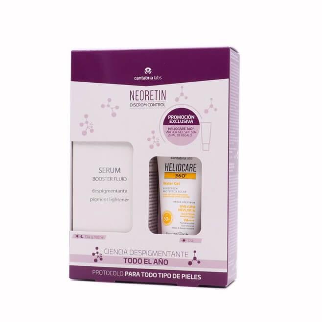 Neoretin Discrom Serum 30ml + Regalo Heliocare 360 Water Gel 15ml