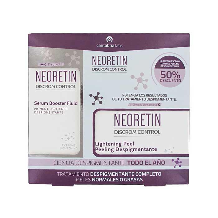 Neoretin Discrom Serum Despigmentante 30ml + Peeling Despigmentante 6 Discos