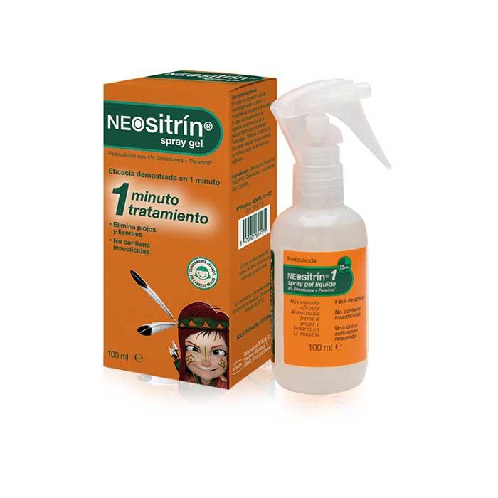 Neositrin Antipiojos Spray Gel 100ml