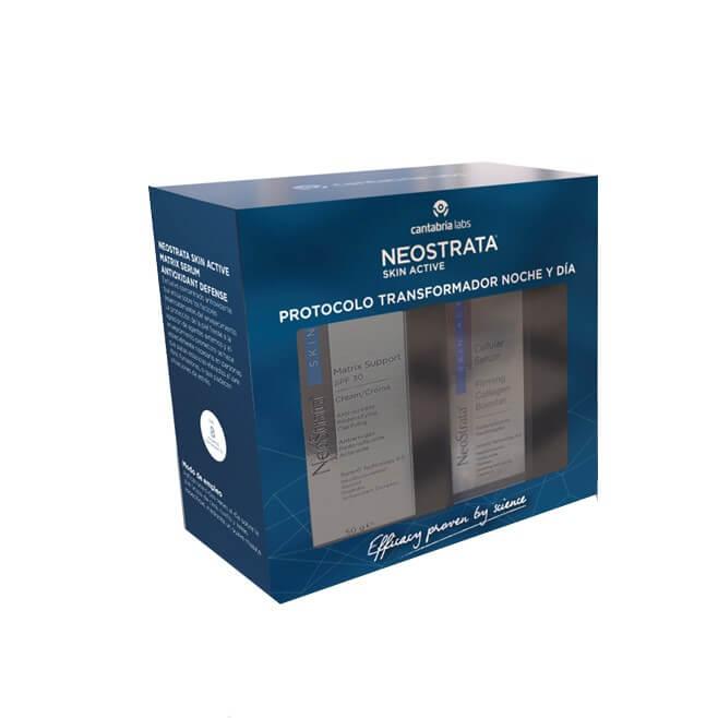 Neostrata Skin Active Pack Matrix Support Spf30 Crema 50g + Cellular Serum Reafirmante 30ml