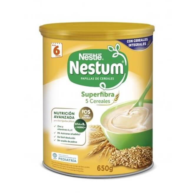 Nestum Superfibra 5 Cereales 650 g