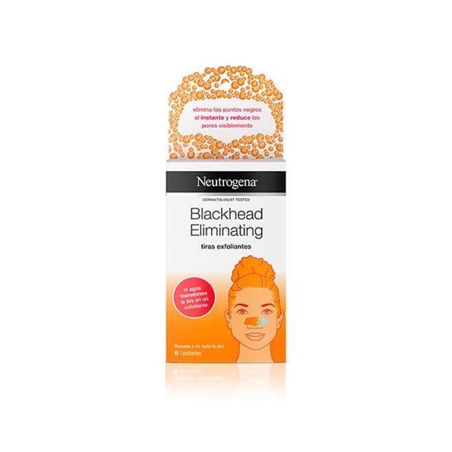 Neutrogena Blackhead Tiras Exfoliantes 6 Unidades
