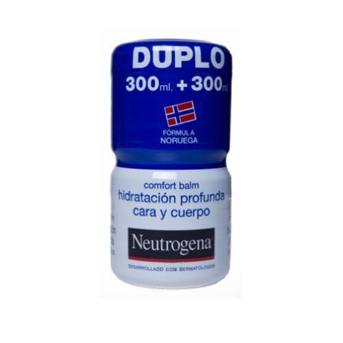 Neutrogena comfort balsamo 300ml+300ml duplo