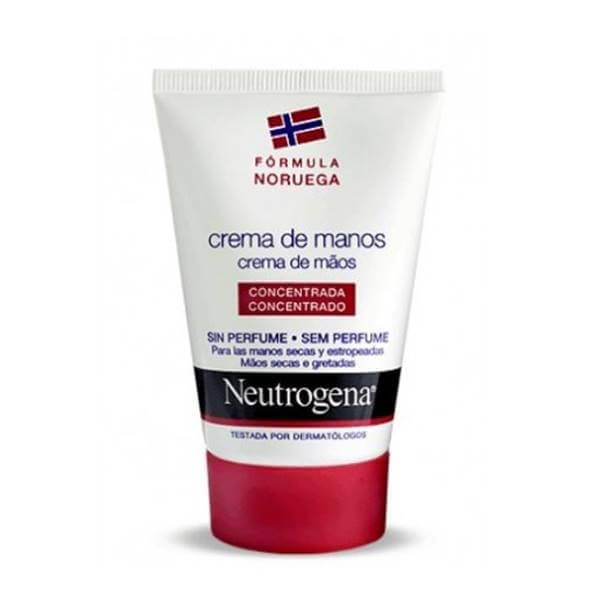 Neutrogena Crema de Manos Concentrada Sin Perfume 50ml