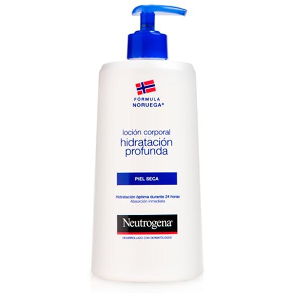 Neutrogena locion corporal hidratacion profunda piel seca 750ml