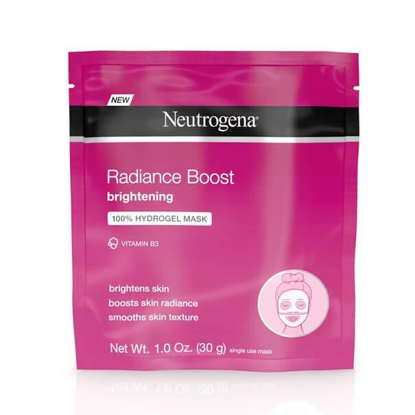 Neutrogena radiance boost mascarilla hydrogel iluminador