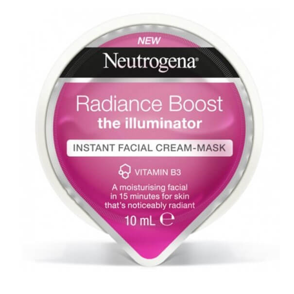 Neutrogena radiance boost express mascarilla en crema 10 ml