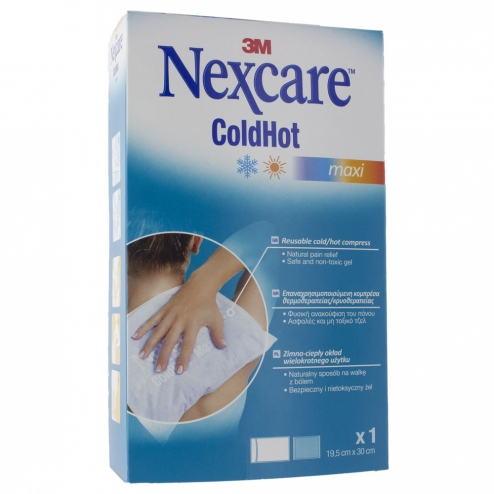 3m Nexcare bolsa coldhot maxi 1ud 19,5cm x 30cm