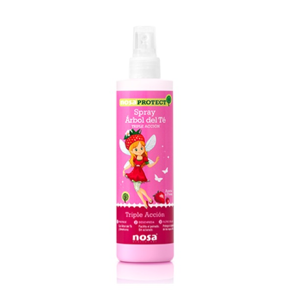 Spray arbol del te nosa triple accion fresa 250 ml