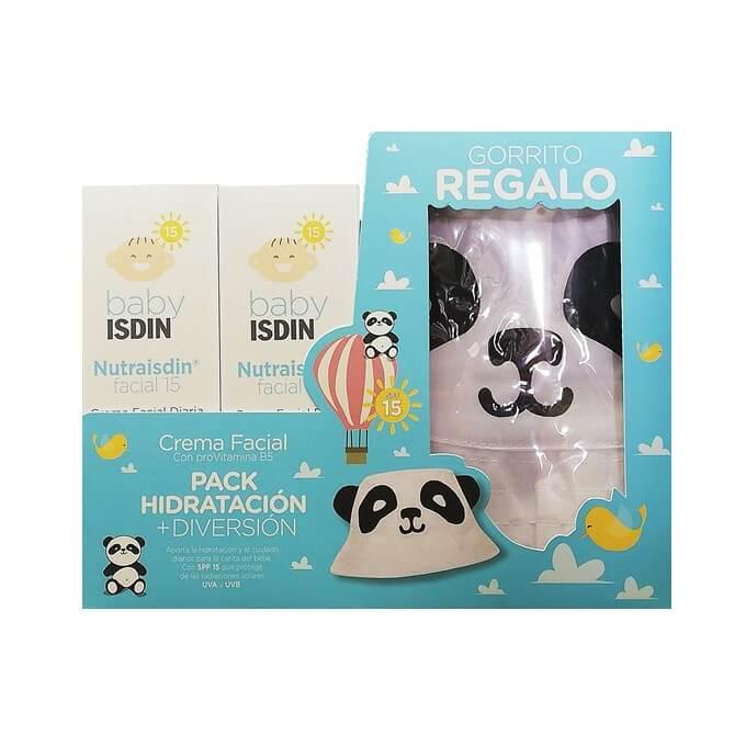 Nutraisdin Pack Crema Facial Spf15 Duplo 50ml+50ml Regalo Gorro Panda