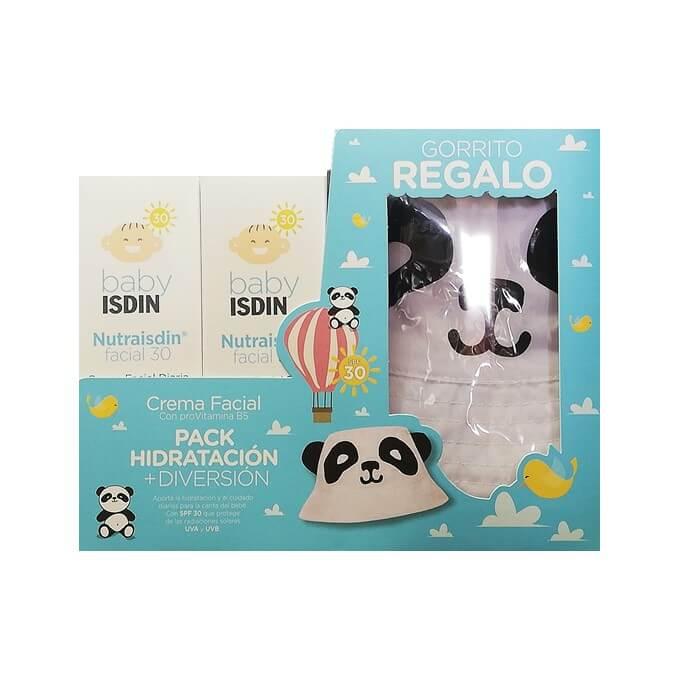 Nutraisdin Pack Crema Facial Spf30 Duplo 50ml+50ml Regalo Gorro Panda