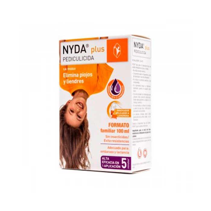 Nyda Plus Pediculicida Elimina Piojos y Linderes 100ml