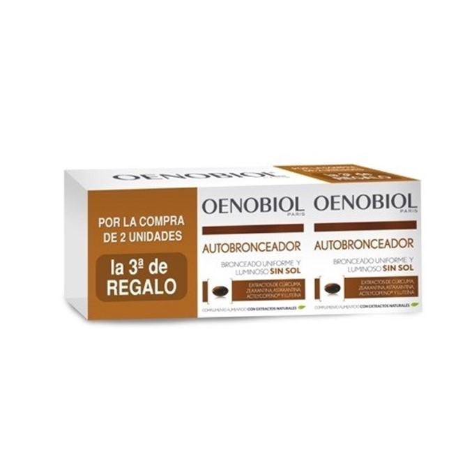 Oenobiol Autobronceador Triplo 3x30 Capsulas