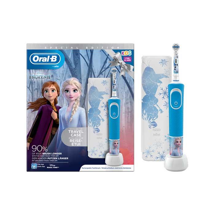 Oral-b Cepillo Electrico Kids Frozen 2 + Funda de Viaje