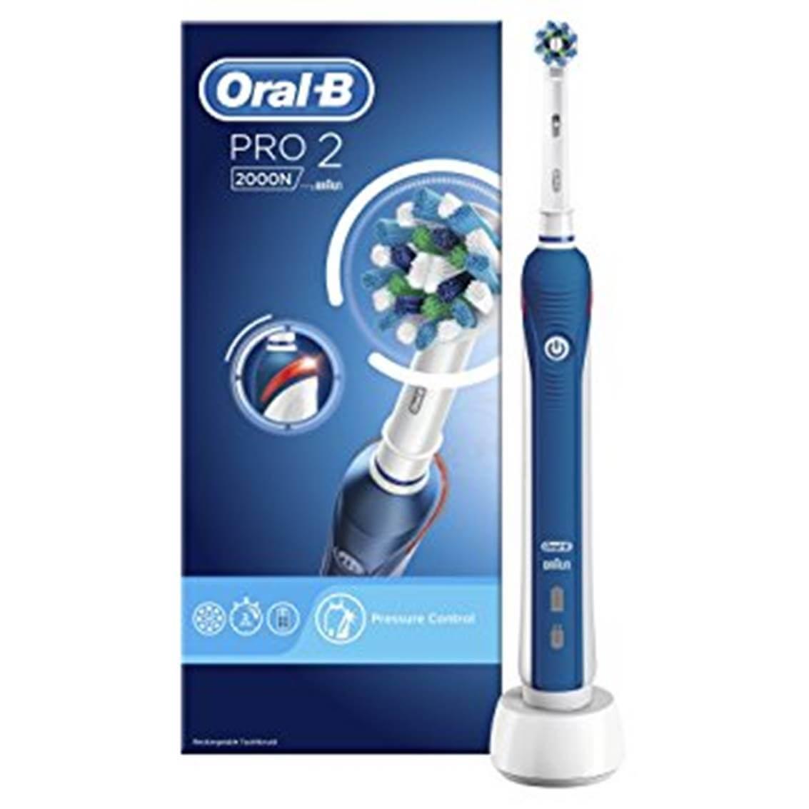 Cepillo electrico oral-b pro 2000n