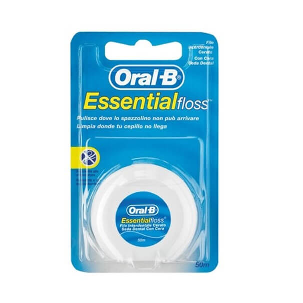 Seda dental con cera essentialFloss menta