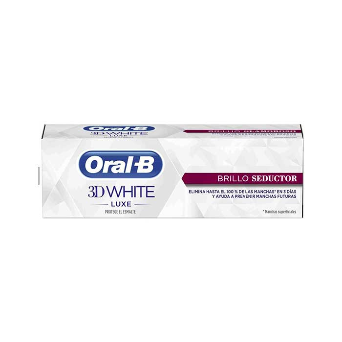 Oral-b Pasta Dentifrica 3d White Luxe Brillo Seductor 75ml