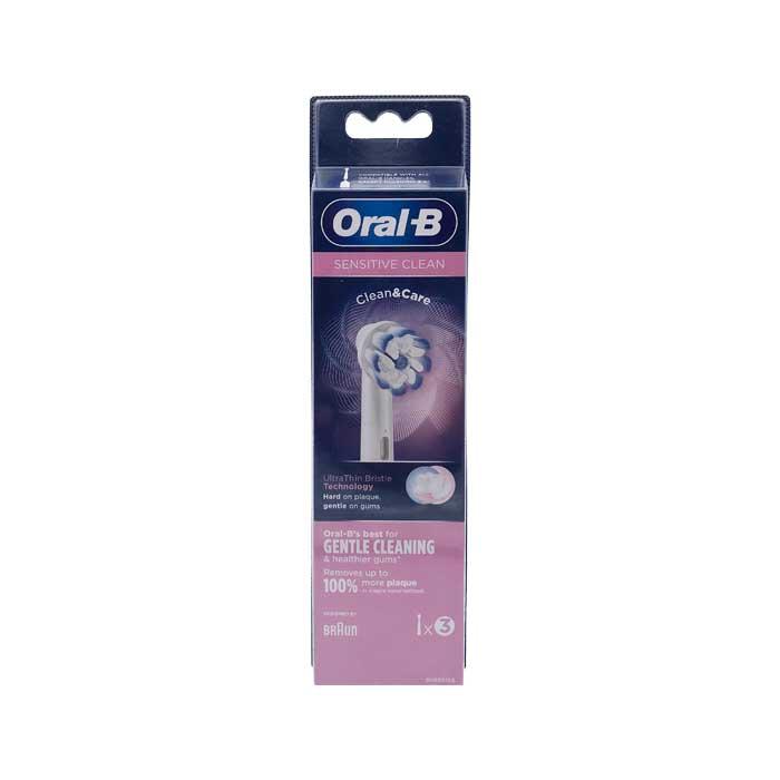 Oral-b Recambios Sensitive Clean 3u