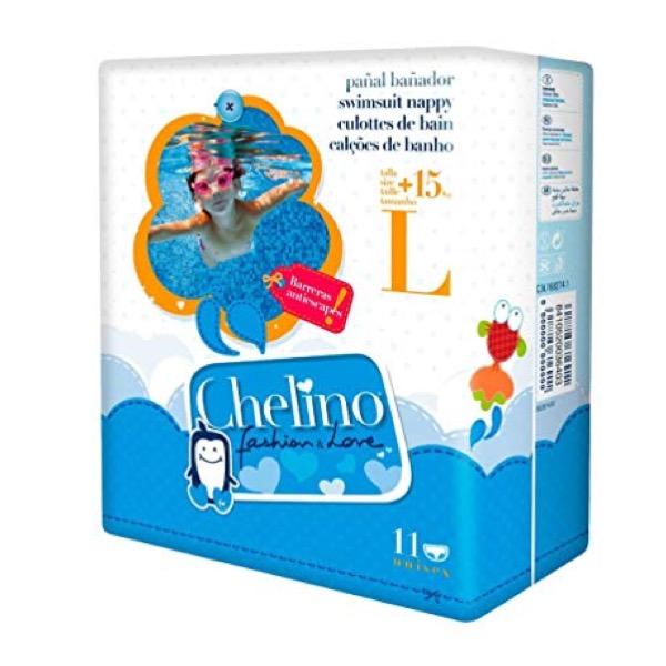 Pañal Bañador Chelino Swimmers Talla l 11 Uds