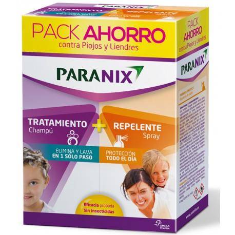 Paranix pack elimina champu + protege spray