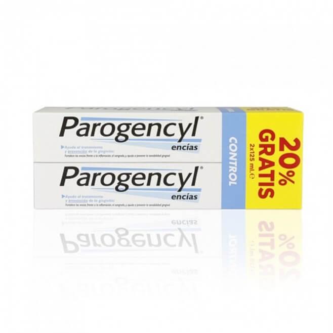 Parogencyl Control Pasta Encias Duplo 125ml+125ml