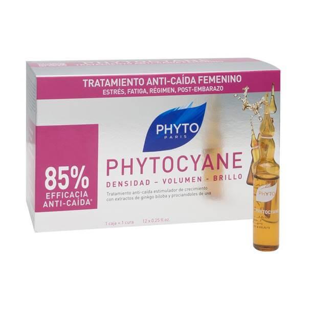 Phytocyane densidad volumen brillo 12 ampollas