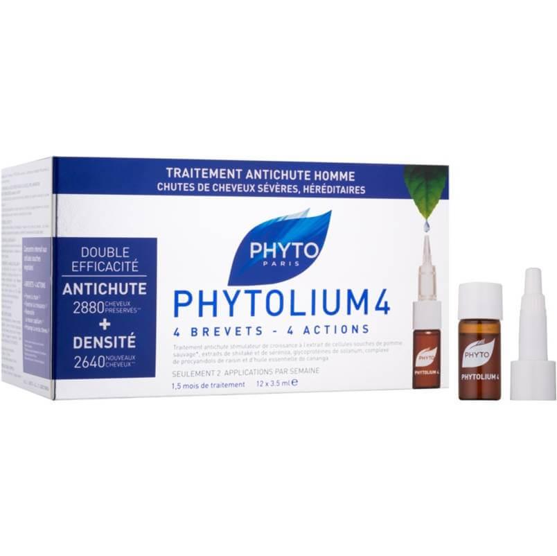 Phytolium4 anti-caida hombre 12 ampollas