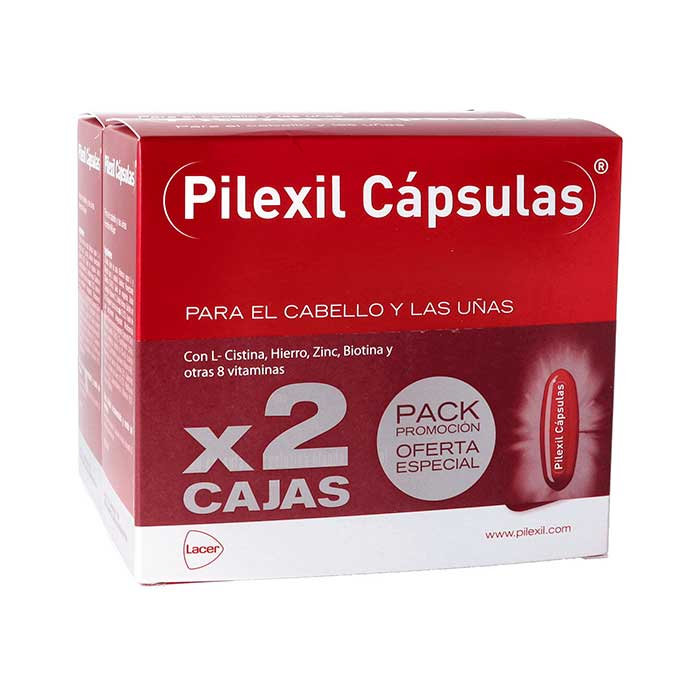 Pilexil Anticaida Pack Duplo 100+100 Capsulas