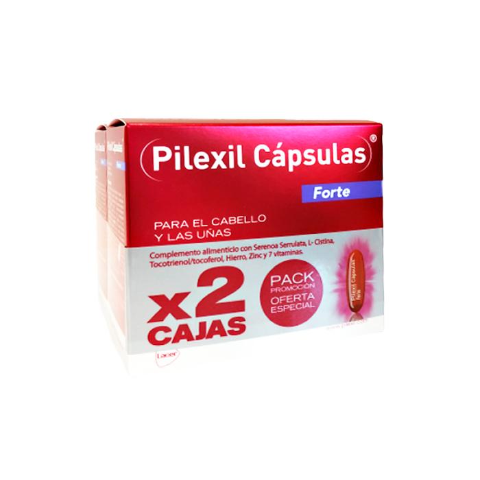 Pilexil Forte Anticaida Pack Duplo 100+100 Capsulas