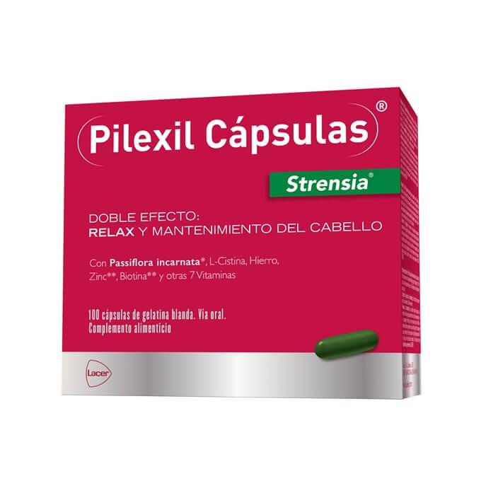 Pilexil Strensia Doble Efecto 100 Capsulas