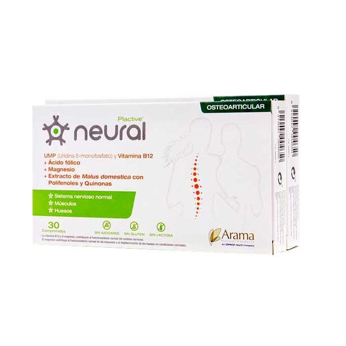 Plactive Neural Duplo 30+30 Comprimidos